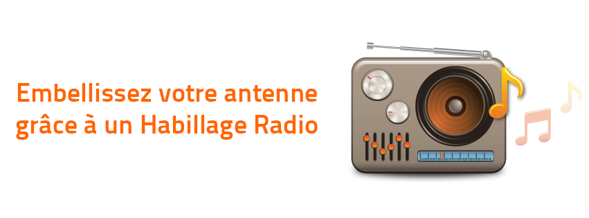Du nouveau chez Radio King : L'habillage Radio