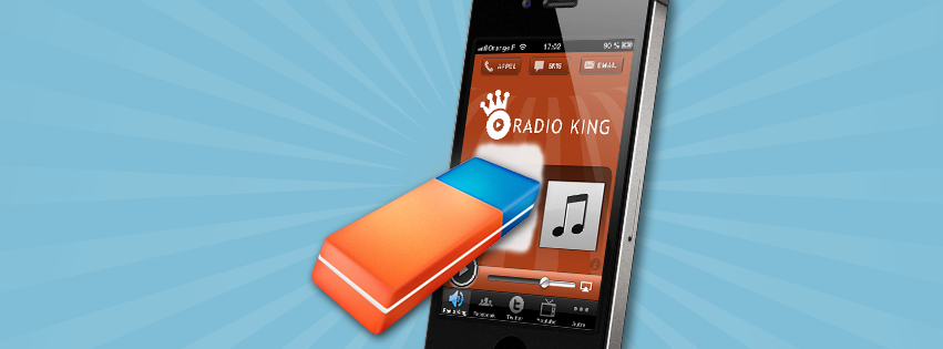 Application Mobile Radio : Gérez vos brouillons