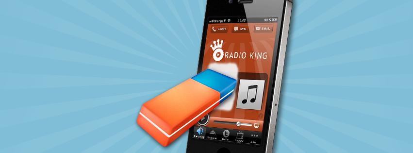 Application Mobile Radio : Gérez vos brouillons