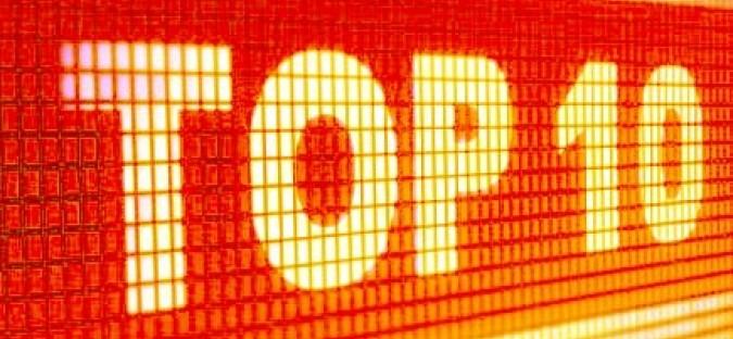 Top 10 des titres les plus diffusés – Semaine 15
