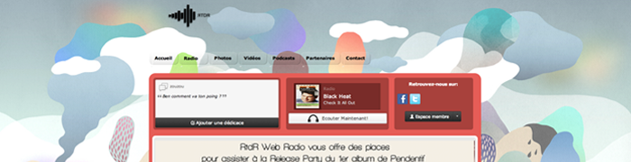 Showcase: Site Radio RTDR