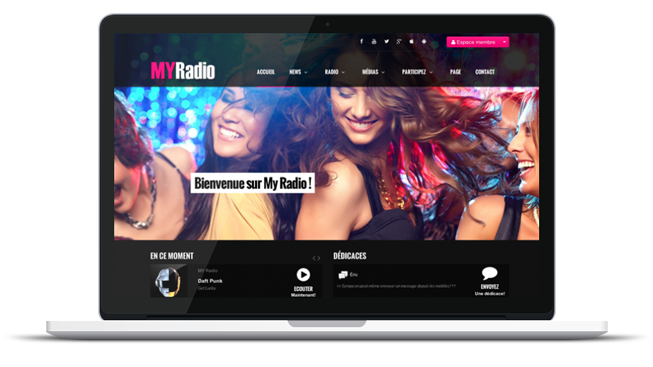 La nouvelle version du Site Radio est disponible!