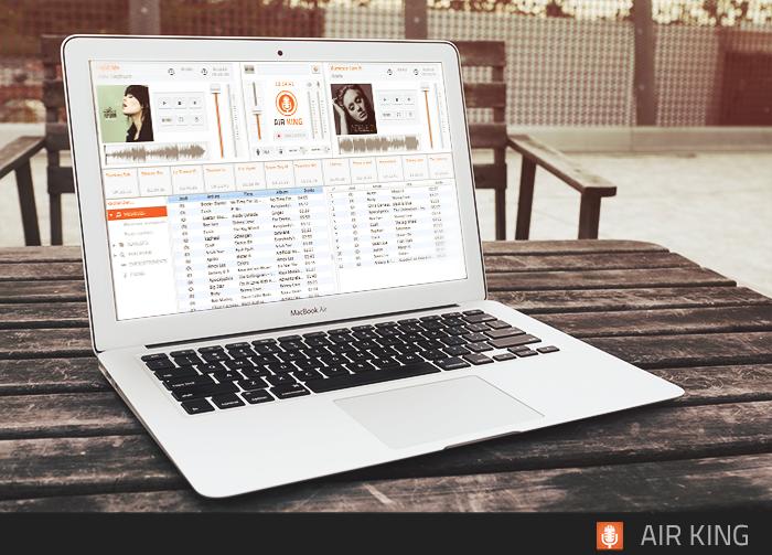 Nouveau : Air King le logiciel idéal pour diffuser en direct