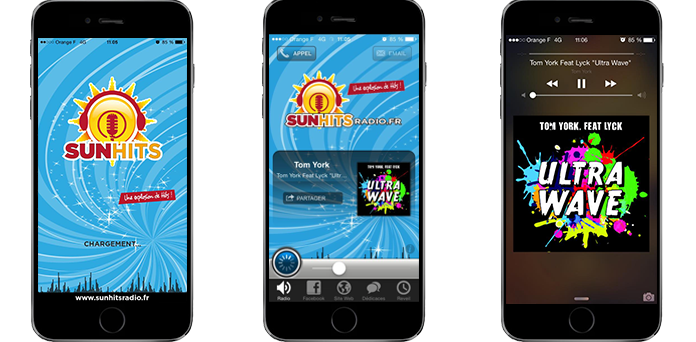 Apps SunHitRadio