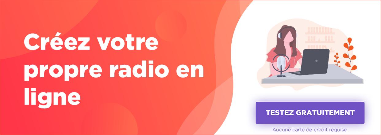 créer webradio