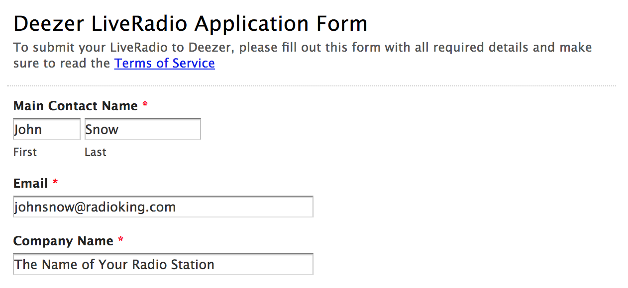 How to Add Your Radio Station to Deezer - RadioKing Blog