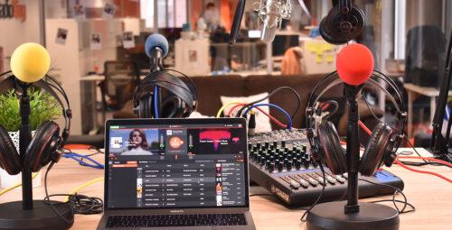 Monter son studio radio pour réaliser un direct à plusieurs