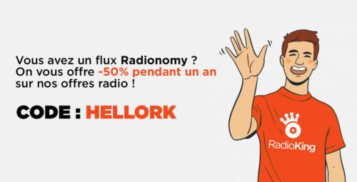 Radionomy ferme définitivement. Profitez de -50% !