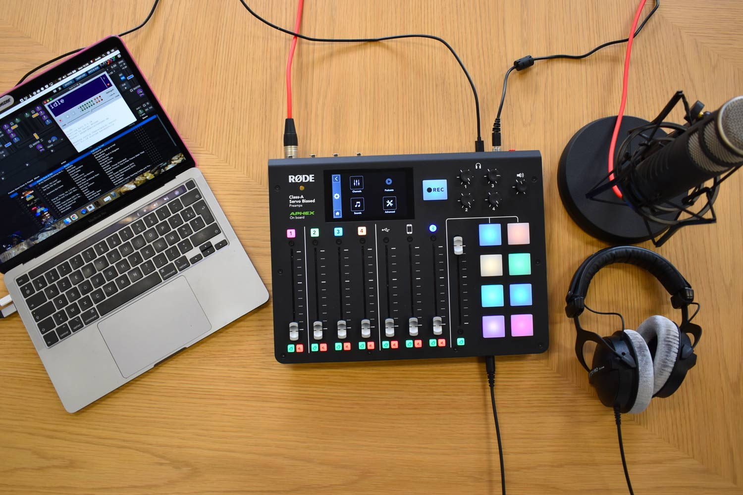 Live RodeCaster Pro - Materiel